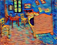 Van Gogh's Bedroom View 1