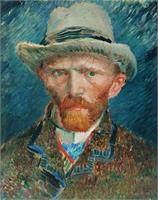 Van Gogh's Self Portrait As TShirt