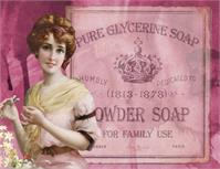 Vintage Beauty Powder Soap