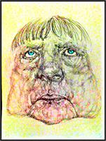 Angela Merkel Caricature 1