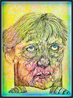 Angela Merkel Caricature 2