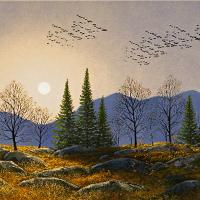 Southern Migration By Moonlight