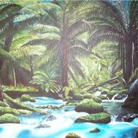 Acrylic Forest