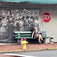 Savannah Bus Stop Photo