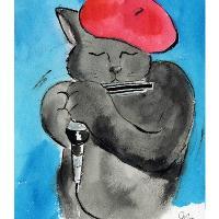 Cool Cat, Hot Harp
