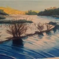 Untitled Winter Pond