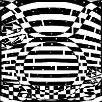 Zodiac Maze Taurus Black And White