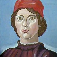 Boy With Red Cop (Botticelli)