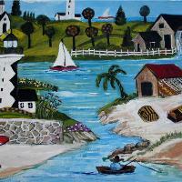 Primitive Seaside City
