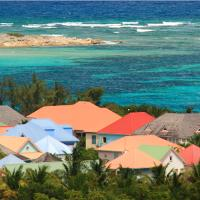 Colorful Caribbean Rooftops In St. Martin