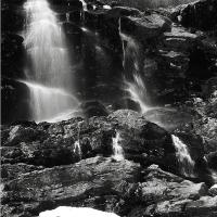 Snowmelt Waterfalls