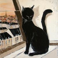 Black Cat Is The Paris Master