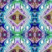Neon Pinstripes1 B