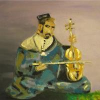 Moroccan Violin Player