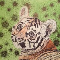 Tiger Cub Stipple