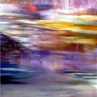 Autumn Rain 1 Acrylic On Canvas 35 X 25in 2013