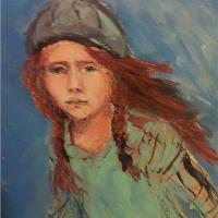 Runnaway Girl Art