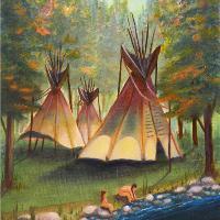 Autumn River Camp