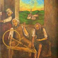 The Workers (signed 'Vincent' On The Left Bottom)