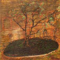 The Garden Tree (signed 'Vincent' On The Right Bottom)