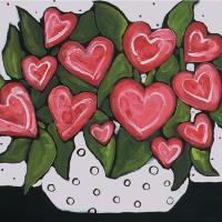 Heart Flowers