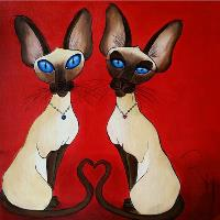 Siamese In Love