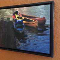 Canoe Canoe Framed