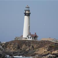 Lighthouse At Pigen Point
