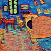 Van Gogh S Bedroom Repose