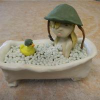 Bathtub Warrior I