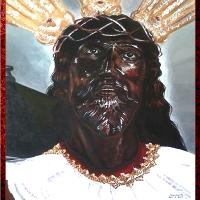 Portrait Of Black Nazarene
