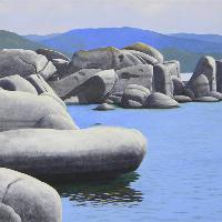 Frank Wilson ~ Lake Tahoe Paintings