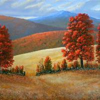 Frank Wilson Landscapes in Oils