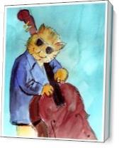 Bass Cat As Canvas