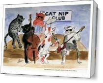 Catnip Club As Canvas