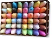 Chalk Box As Canvas