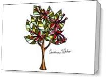 Eastern Wahoo Tree As Canvas