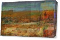Mojave VII As Canvas