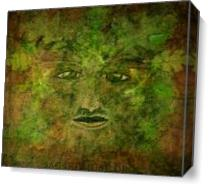 Green Man Mythology As Canvas