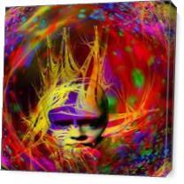 Astral Fantasy As Canvas