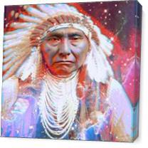 Crazy Horse As Canvas