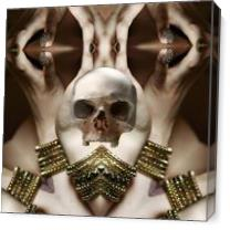 Skull Magic As Canvas
