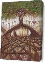 Tree Of Life As Canvas