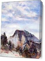 Half Dome As Canvas