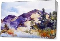 Majestic Mount Diablo As Canvas