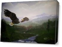 Eagle As Canvas