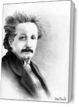 Einstein As Canvas