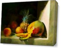 Fruit Delight As Canvas