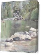 Stanislaus River As Canvas