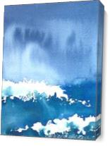 The Sea I As Canvas